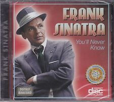 FRANK SINATRA - YOU'LL NEVER KNOW - CD - NEW -