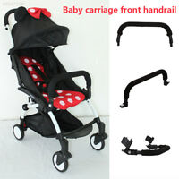 406A Black Useful Bumper Bar Pushchair Toddler Buggy Baby Stroller Armrest