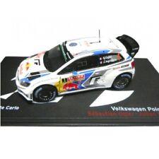 Volkswagen Polo R WRC Ogier 2014 Rally Montecarlo 1:43 Ixo Altaya Diecast