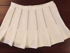 Mary Hartline Donahue's White Timandra Tennis Skirt, 8. ORIGINAL MHD ❤