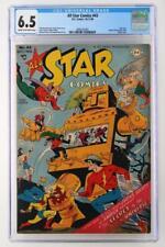 All Star Comics #43 - CGC 6.5 FN+  DC 1948 - New Logo!