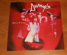 Divinyls What a Life! Poster 2-Sided Flat Square 1985 Promo 12x12 RARE
