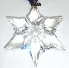 Swarovski Ornament Weihnachts Stern 2000 / X Mas Star mit OVP + Certificat