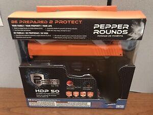 Umarex T4E P2P HDP .50 Pepper CO2  Gun W/10 Powder and 10 Rubber Balls And Tanks