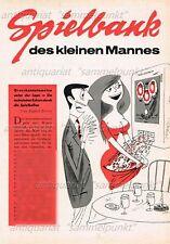 Spielbank der kleinen Mannes / Rotamint Duett - Original Bericht von 1960