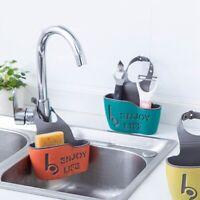 Bathroom Hanging Storage Bag Kitchen Soap Sponge Drain Rack Sink Basket Shelf l