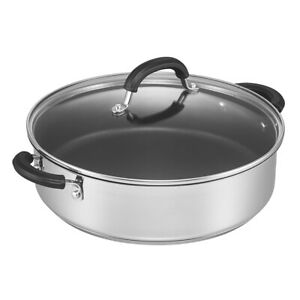 New Circulon Total 30cm/5.7L Covered Sauteuse Pan RRP $219.95 Induction Capable