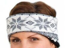 Stirnband mit Ohrenschutz (Norweger Look; Wintersport Joggen Wandern Outdoor usw