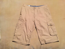 "Mens Atlantic Bay Cargo Shorts Size 34"" Waist, 14"" Inseam Great Condition"