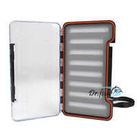 Saltwater Fly Box Fishing Tackle Trout Storage Waterproof Large Slim Lightweight