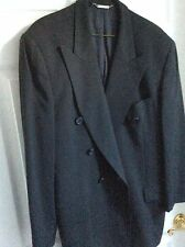 DOLCE GABBANA Wool Suit Jacket Blazer SIZE54 without one button