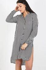 Vestiti da donna casual a righe in cotone