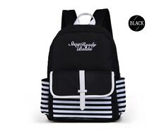 Lightweight Black Baida Backpack School Bag For Girls with Fashion Casual Look