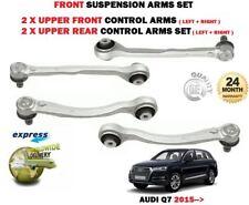 FOR AUDI Q7 2015-> FRONT UPPER LEFT RIGHT REAR FRONT SUSPENSION CONTROL ARM SET