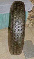 Michelin ZX Radial Tire 135SR X 15 Used, For Citroen Mehari or 2CV