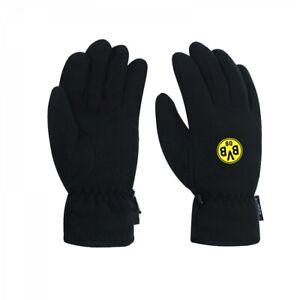 Borussia Dortmund Fleece-Handschuh BVB Winter Handschuh mit Emblem Gr. S
