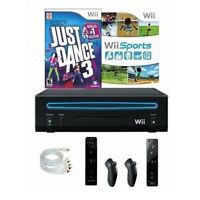 Nintendo Wii Console Bundle With Just Dance 3 Wii Sports And 2 Very Good 5Z