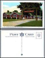 WASHINGTON Postcard - Longview, Entrance To Tourist Park L40