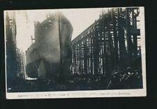 Navy British Launch Vickers Turkish Battleship seized HMS ERIN - see description