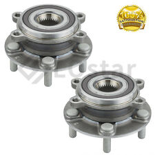 Pair(2) Front Wheel Hub & Bearing Assembly Fits Mazda 6 CX-5 FWD & AWD