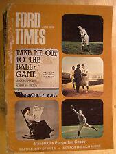 Ford Times Magazine June 1974  Baseball's Forgotten Casey Seattle City of Hills