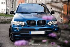 schwarz glänzende Nieren BMW X5 E53 Facelift Frontgrill Kühlergrill salberk 5304