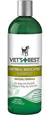 Vet's Best Oatmeal Medicated Shampoo for dogs 470ml (16floz)