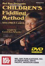 Mel Bay'S Children'S Fiddling Method- Volumes 1 And 2/ Method Dvd- New!