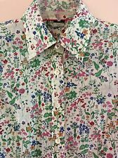 "J.CREW Kathryn Slim-Fit Shirt In Liberty Art Fabrics ""Field Flowers"" Floral XS"