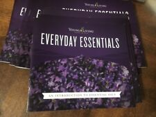 YOUNG LIVING Everyday oils Book Booklet Brochure 17 pg Full Color Chart