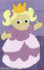 Permin  14-3808  Petite Princesse  Broderie  Point Lancé  Canevas imprimé