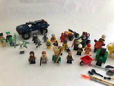 Lego Minifigures Trabajo Lote De Minifiguras, Marvel, Star Wars, Paquete De Colección