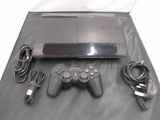 Sony Playstation 3 Black Pal COMPUTER CONSOLE (17) CECH-4003C