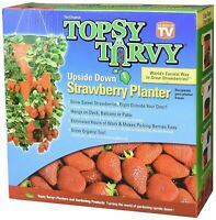 Topsy Turvy Upside Down Strawberry Planter