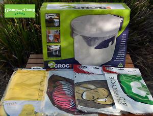 Croc Bin Camping Bin & Storage Bag Bundle