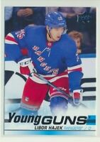 2019-20 Upper Deck Series 1 Young Guns Rookie 240 Libor Hajek New York Rangers