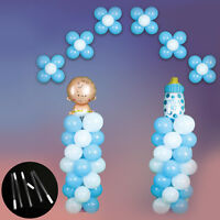 5Pcs Plastic Sticks Clear Pole For Balloon Column Arch Stand Wedding Decor