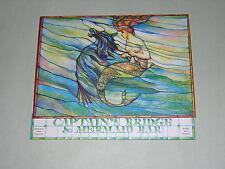 FISHERMAN'S WHARF VINTAGE MENU. KEWALO BASIN. HONOLULU. c1960s. CAPTAIN'S BRIDGE