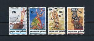 Papua New Guinea    721-4 MNH, Traditional Dance, 1989