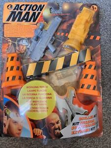Action man Carded  Driller Kit Accessories sealed 1999 by Hasbro