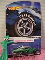 2015 Hot Wheels Real Riders #15 ASTON MARTIN 1963 DB5☆Green;63☆Heritage Classics