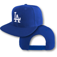 Dodgers Snap Back Cap Hat Embroidered LA Men Adjustable Flat Bill