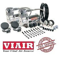 VIAIR 150PSI 4.55CFM 400C Dual Performance Value Pack 40013 Chrome