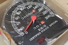 NEW Harley speedometer FL touring fairing 67225-87B FLHT FLT NOS speedo EP12447