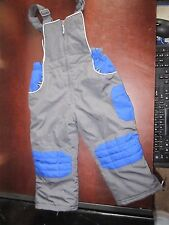 Unbranded Size 3T Black snow pants ski suit Pants bibs cute sledding cold