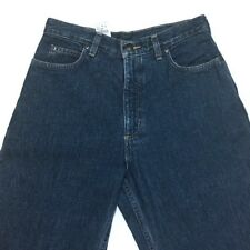 Lands End High Waist Mom Jeans 6 Tapered Legs Relaxed 29W 32L Classic