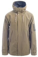 NWT MENS HOLDEN SPARROW JACKET L $400 Olive Water Resistant Insulated