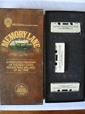Candlelite Music - Memory Lane Rock n Roll Golden Treasury - Box Set 3 Cassettes