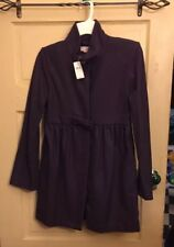 NEW Stella McCartney COAT Gap Kids Girls Jacket sz XXL 14-16 Purple wool $98ret