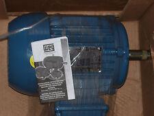 WEG AC Motor PN: 00156ET3E143T-W22 - 1.5Hp  208-230/460V  3490 RPM *NEW*